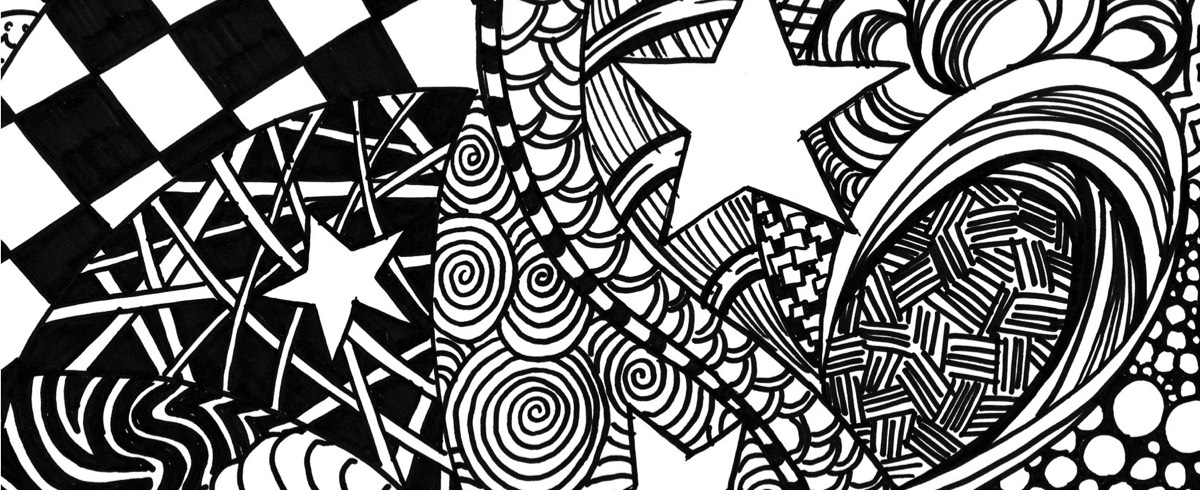 Zentangle Middle School Art